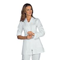 Tunique Médicale Manches longues retroussables Tortola Blanc