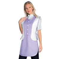 Tablier Médicale Kingston Lilas Blanc