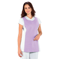 Chasuble Médicale Papeete Blanc Lilas