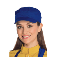 Casquette serveur sam  bleu cyan