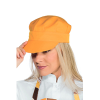 Casquette serveur sam  abricot