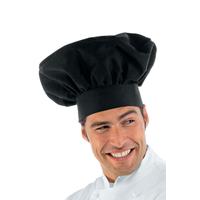 Toque de chef cuisinier noir