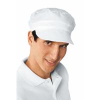 Casquette blanche de cuisine charly