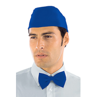 Calot de cuisinier bleu cyan