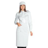 Tablier de cuisine Dakar Cm 100x70 Blanc