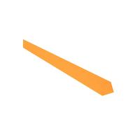Cravate Abricot