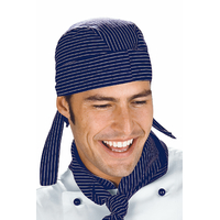 Toque Bandana Cuisine vienna Bleu