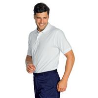 Polo manches courtes Blanc