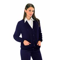 Gilet Cardigan Unisexe Bleu