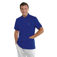 Tunique médicale bleue pour Homme