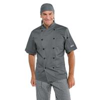 Veste professionnelle de cuisine grise
