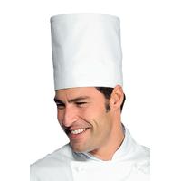 Toque blanche de chef cuisinier elite