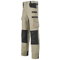 Pantalon de travail Work Attitude beige taupe et noir A. Lafont