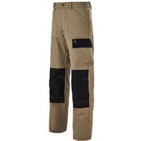 Pantalon de travail beige et noir rigger Adolphe Lafont