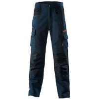 Pantalon de travail Work Attitude bleu marine et noir