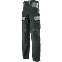 Pantalon de travail noir et gris