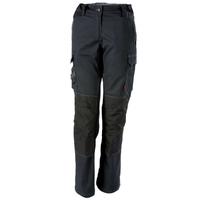 Pantalon de travail femme noir confort stretch Adolphe Lafont