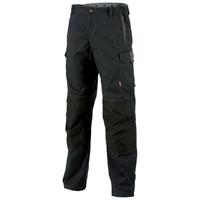 Pantalon de travail homme stretch noir