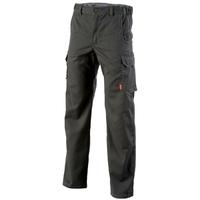 Pantalon de travail sans poches genoux gris chinook
