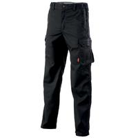 Pantalon de travail sans poches genoux noir