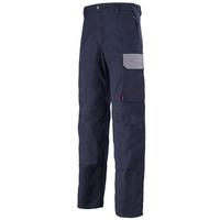 Pantalon de travail bleu marine et gris acier muffler