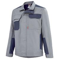 Blouson de travail gris acier / bleu marine A. Lafont