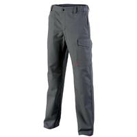 Pantalon de travail gris acier azurite