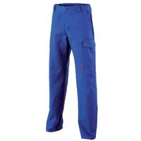 Pantalon de travail bleu bugatti azurite