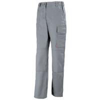 Pantalon de travail femme couleur acier