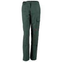 Pantalon de travail femme vert fonce