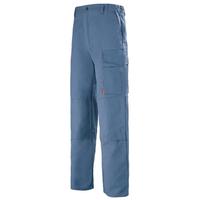 Pantalon de travail Homme Multipoches bleu petrole