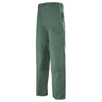 Pantalon de travail Homme Multipoches vert fonce