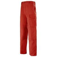 Pantalon de travail Homme Multipoches rouge