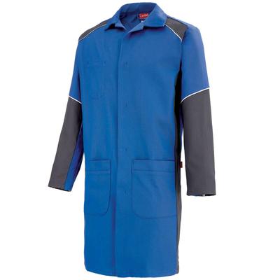 Blouse de travail à manches longues bleu como et charbon warm / 7TEECP805
