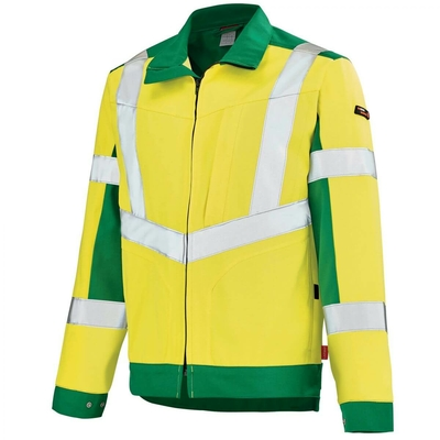Veste de travail Haute visibilité jaune hivi et vert lutea A. Lafont / 3HVNCP302