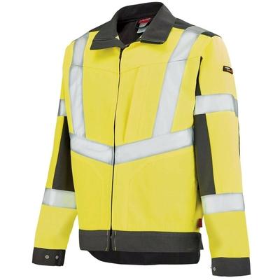 Veste de travail Work Vison jaune fluo hivi et gris / 3HVNCP2272