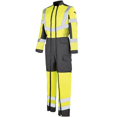 Combinaison de travail Hivi jaune fluo et gris Work vision 2 Lafont / 5HVHCP2272