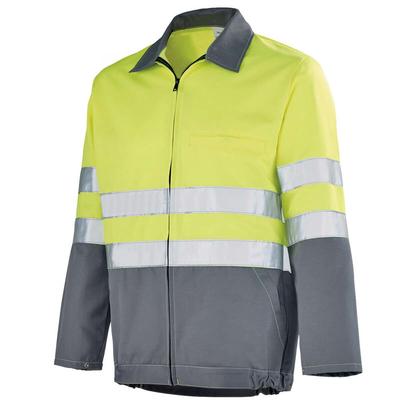 Blouson Haute visibilité jaune hivi / gris acier Sapivog A. Lafont / 3ECOHV706