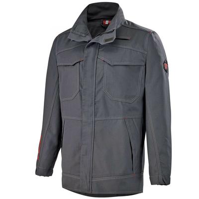 Veste de travail ergonomique multirisques gris charbon chabrias / 2PROVA67