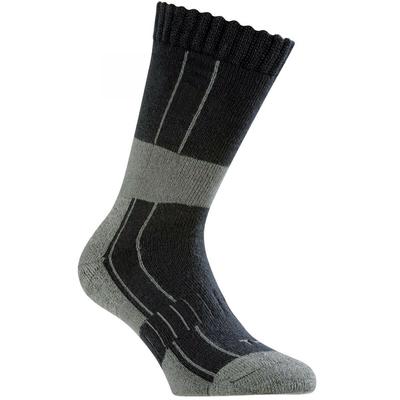 Chaussette ergonomique bleu / noir / gris sporty / 9ERGO2932
