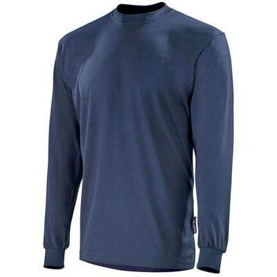 Tee-shirt à manches longues bleu marine miltiade / CFLAMEML1
