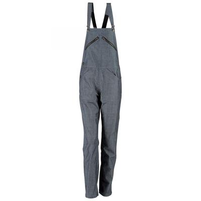 Cotte de travail à bretelles femme jean bleu clair sophie / 406D19550