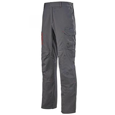 Pantalon de travail ergonomique multirisques gris charbon aetius / 1PROVA67