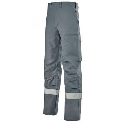 Pantalon de travail sécurité gris acier titan / 1PRTCCP6