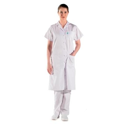 Blouse blanche médicale femme