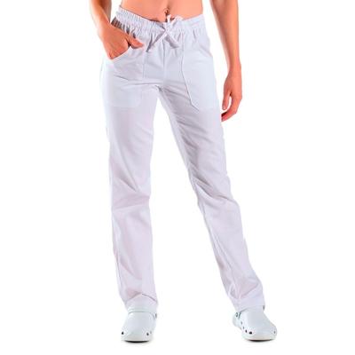 pantalon de travail blanc unisexe