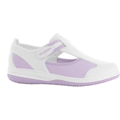 Chaussures Hôpital blanc/ parme Pointure 36 Infirmière Hôpital Clinique