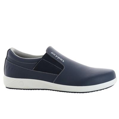 Chaussure bateau bleu marine
