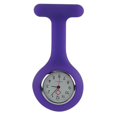 montre infirmière violet purple