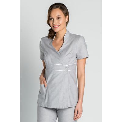 acheter blouse estheticienne grise